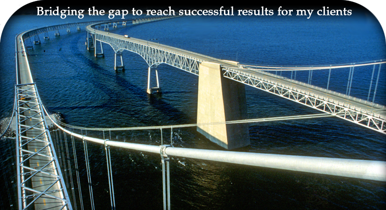 Bridging the gap to reach successful results for my clients